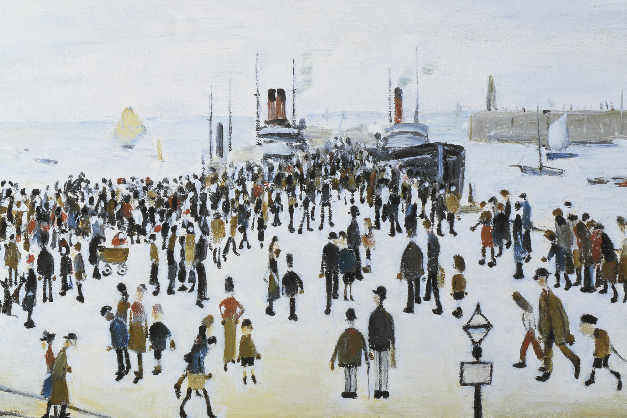 """L.S. Lowry Limited Edition """"The Ferry Boats"""" - Image 5 of 8"""
