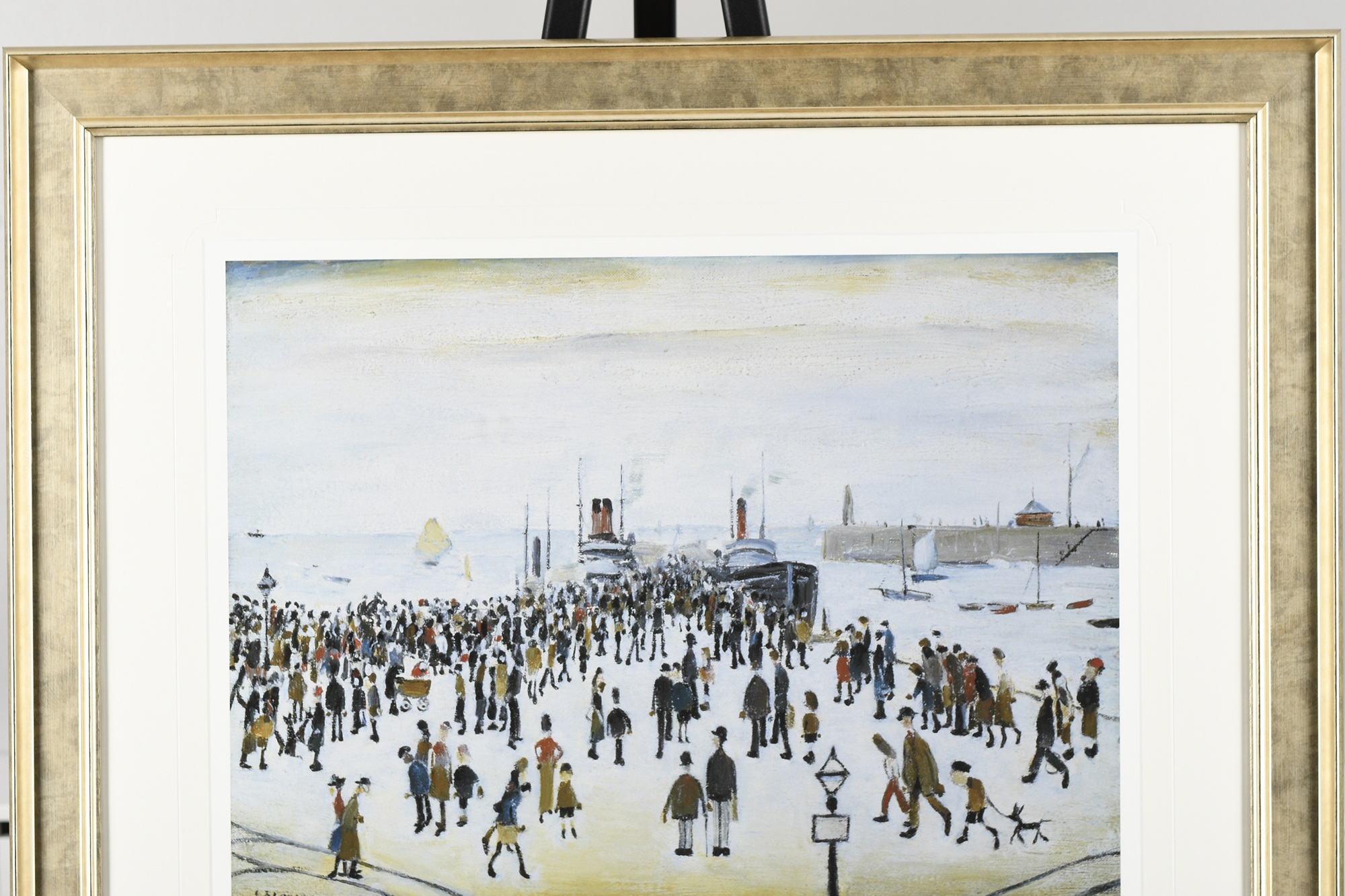 """L.S. Lowry Limited Edition """"The Ferry Boats"""" - Image 2 of 8"""