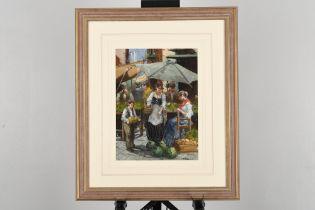 M.Liberti Original Framed Painting.