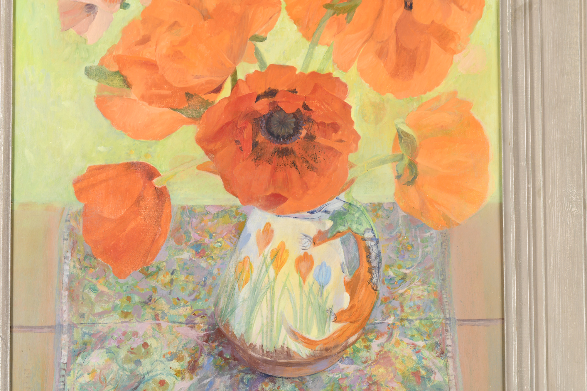 Original Oil Painting by Scottish Artist Ann Patrick. - Image 7 of 9