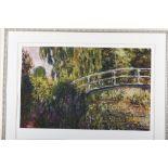 """Claude Monet Limited Edition titled """"Le Pont Japonais"""""""