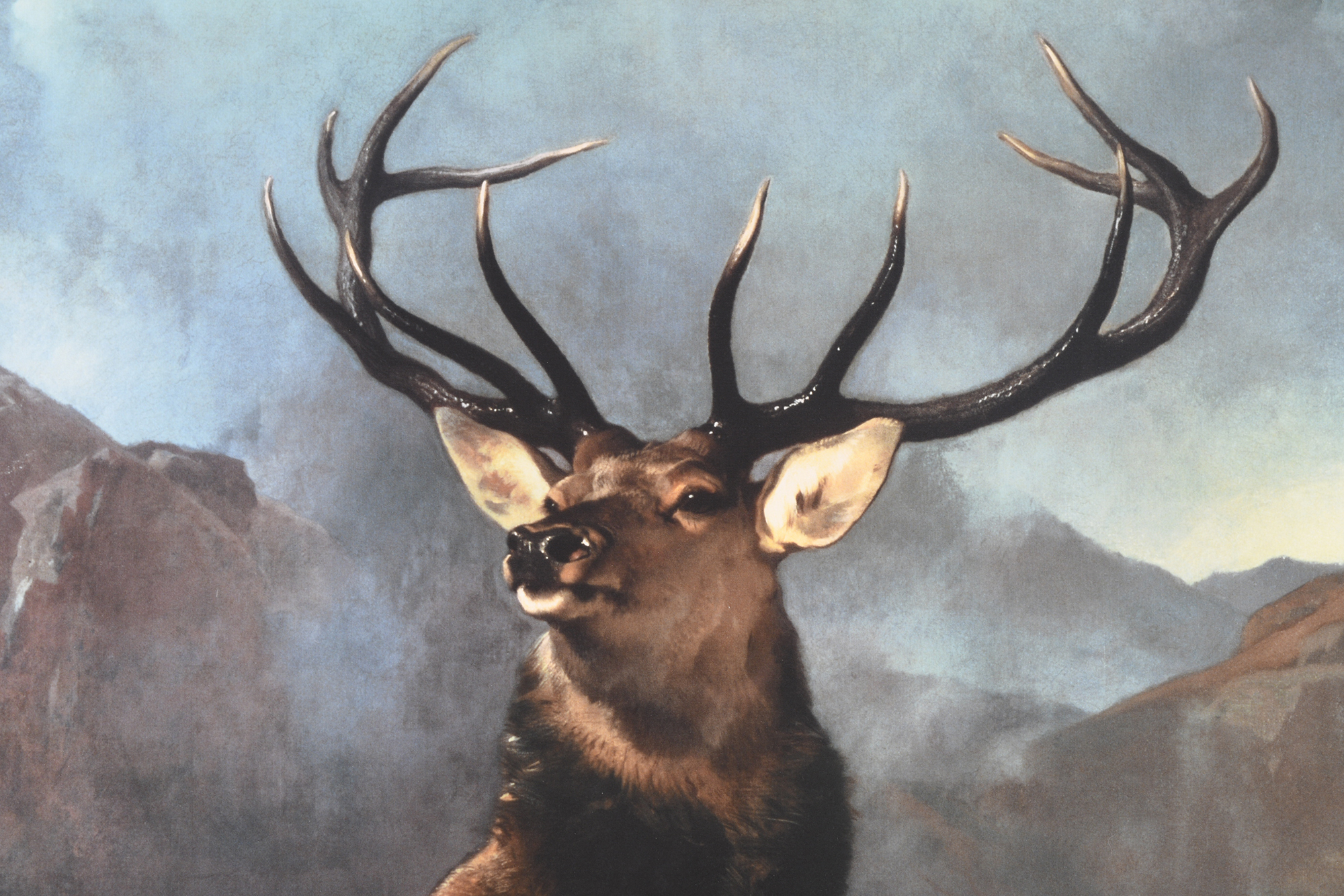 """Edwin Landseer Limited Edition """"Monarch of the Glen"""" 1 of only 85 Worldwide. - Image 8 of 9"""