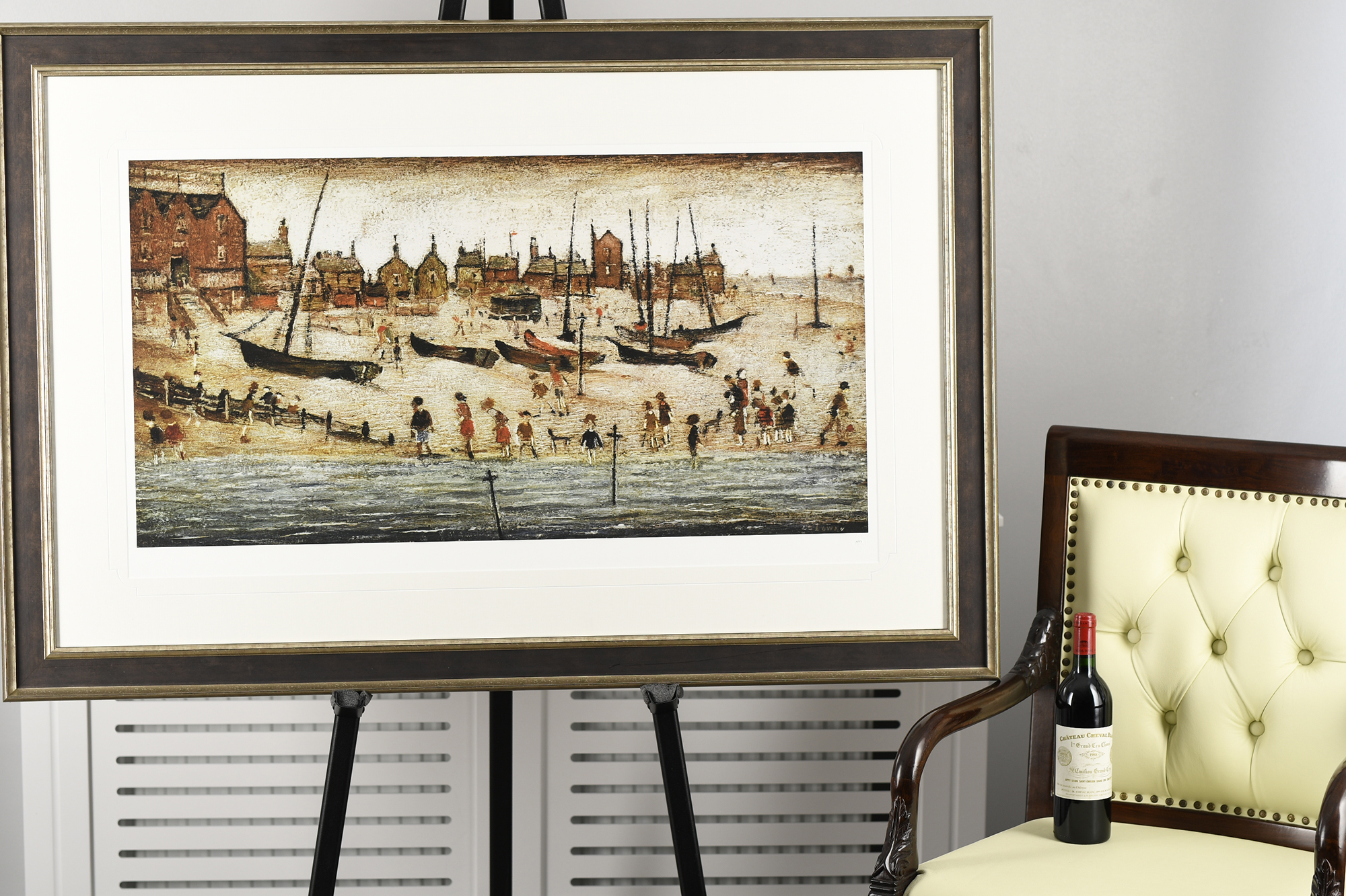 """Limited Edition L.S. Lowry """"The Beach"""" - Image 8 of 9"""