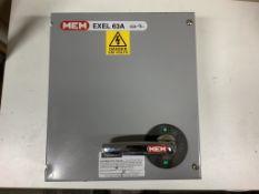 MEM 63 amp Distribution Board Isolator/ Breaker. Used