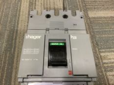 Hager H3 3 pole mains switch 400 amp