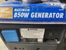 850 Watt Petrol Generator - Pro User