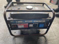 2.3Kw Petrol Generator - Pro User