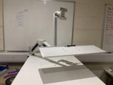 Adjustable monitor / tv desk mount arm