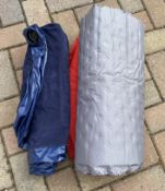 2 Inflatable single Camping Mattresses