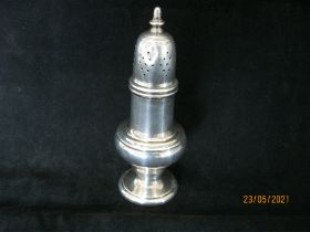 Sterling Silver Pepper Pot
