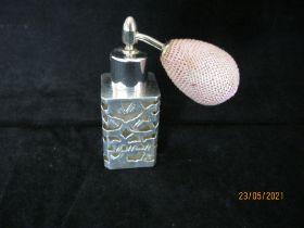 Sterling Silver Dressing table Perfume Atomiser London 1992