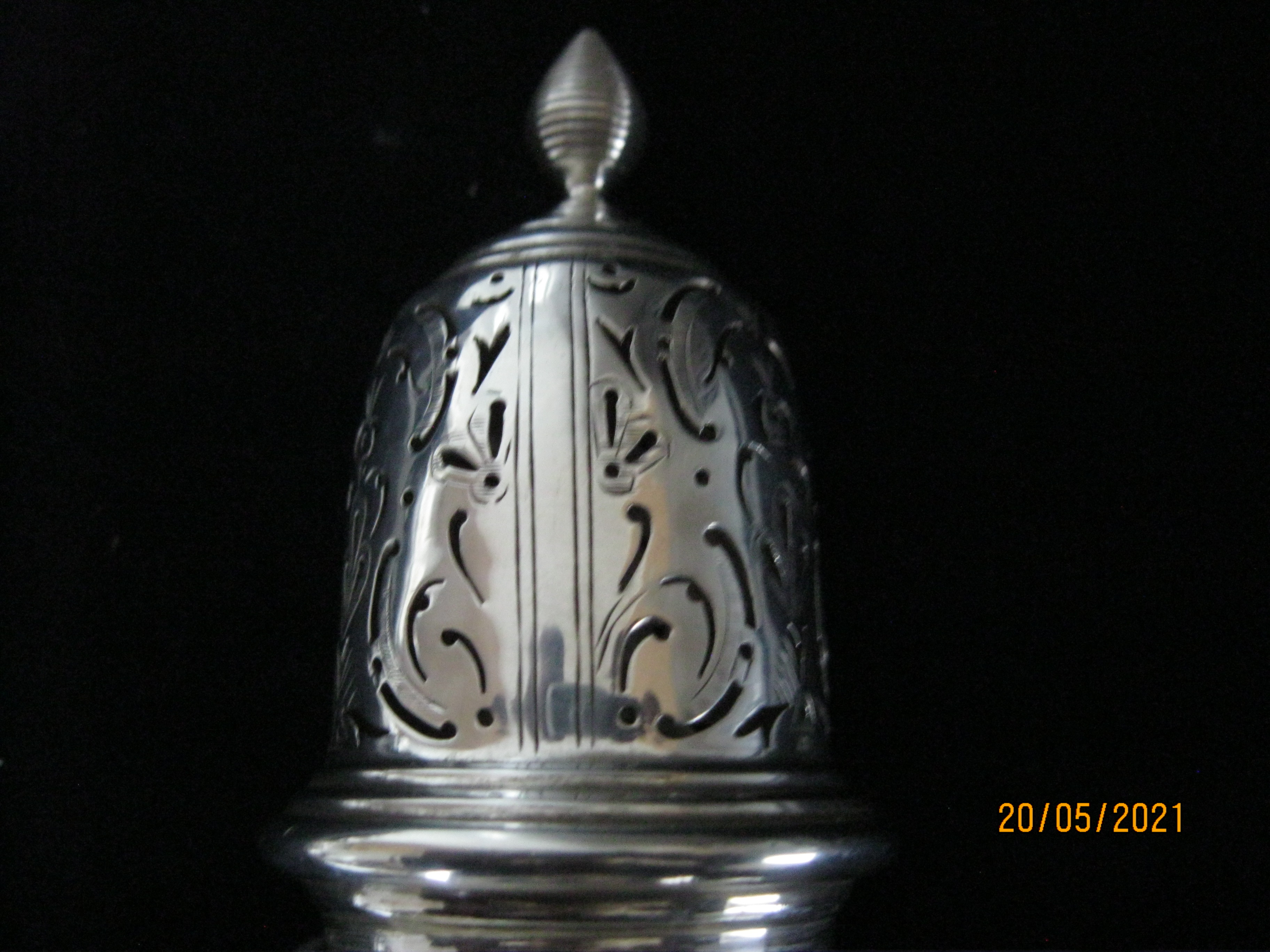 Antique Sterling Silver Sugar Caster 1924 - Image 4 of 7