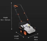 6 x 1500W Lawn Rake & Lawn Scarifier - Customer Returns