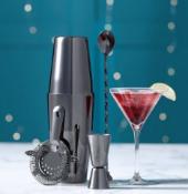 Graphite Boston Cocktail Set - Customer Returns