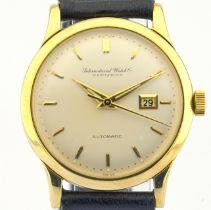 IWC / CALIBER C 8531 - Gentlemen's Yellow gold Wrist Watch