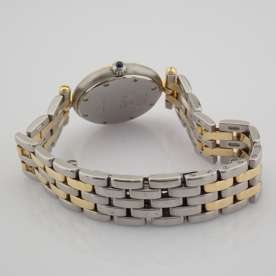 Cartier / Cartier Panthere Vendome 18K double row gold bracelet - Lady's Gold/Steel Wrist Watch - Image 5 of 10