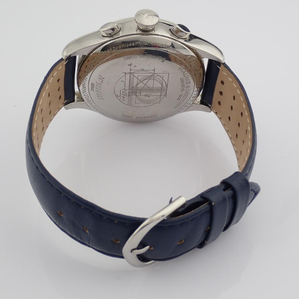 Baume & Mercier / 65542 - Gentlemen's Steel Wrist Watch - Image 4 of 10