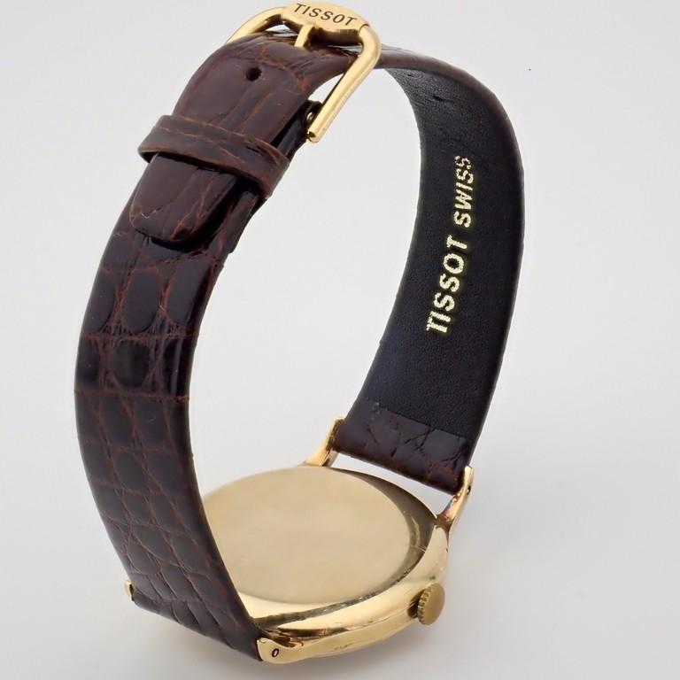 Tissot / Antimagnetique Classic 14K - Gentlemen's Yellow gold Wrist Watch - Image 6 of 12