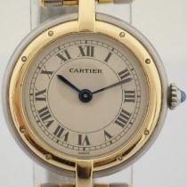 Cartier / Cartier Panthere Vendome 18K double row gold bracelet - Lady's Gold/Steel Wrist Watch