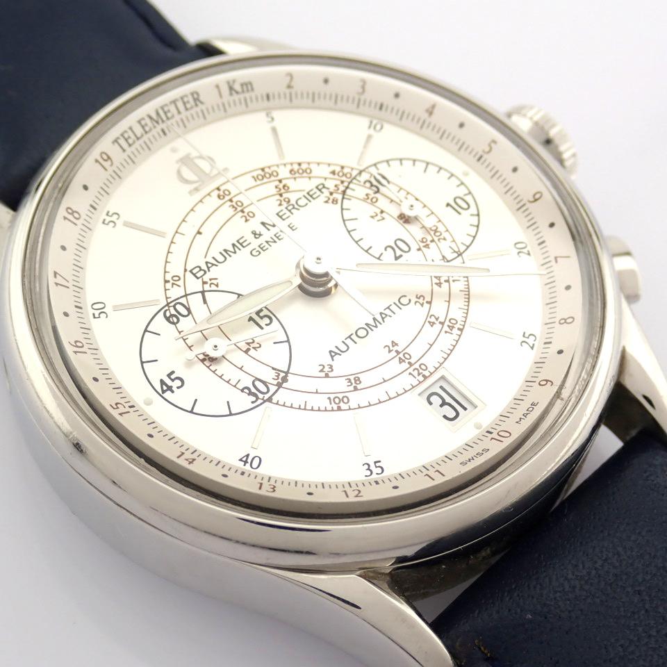 Baume & Mercier / 65542 - Gentlemen's Steel Wrist Watch - Image 8 of 10