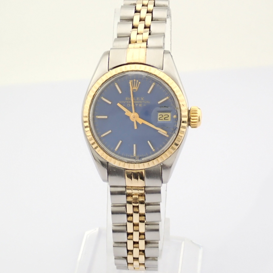 Rolex / Oyster Perpetual Date 6917 - Lady's Steel Wrist Watch - Image 6 of 13