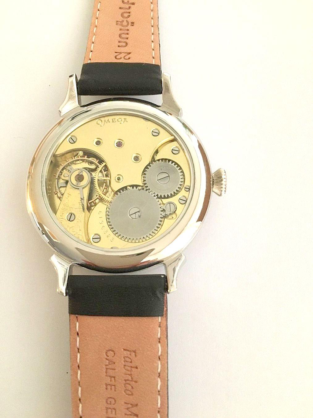 Omega / Marriage Watch - Transparent Large 46 mm - Gentlemen's Steel Wrist Watch - Image 3 of 3
