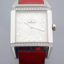 Jaeger-LeCoultre / Reverso Diamond - Unisex Steel Wrist Watch