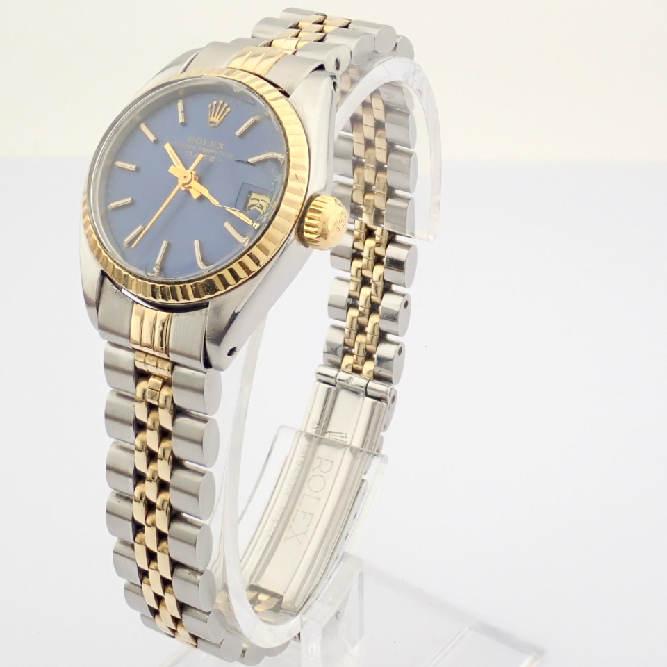 Rolex / Oyster Perpetual Date 6917 - Lady's Steel Wrist Watch - Image 5 of 13
