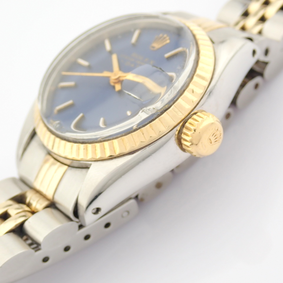 Rolex / Oyster Perpetual Date 6917 - Lady's Steel Wrist Watch - Image 8 of 13