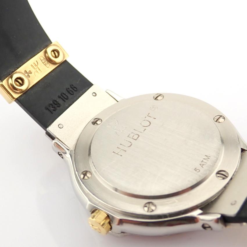 Hublot / MDM Diamond 18K Gold & Steel - Lady's Gold/Steel Wrist Watch - Image 6 of 17