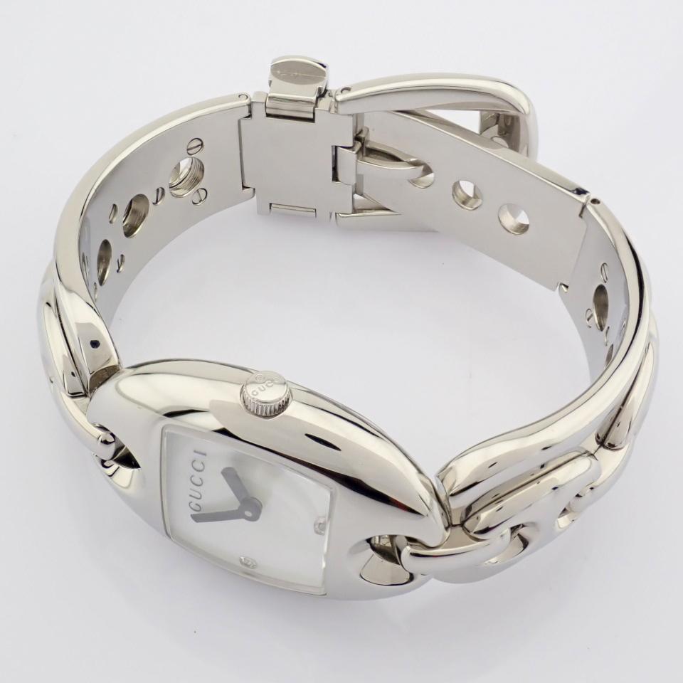 Gucci / 121.5 DIAMOND - Lady's Steel Wrist Watch - Image 11 of 12