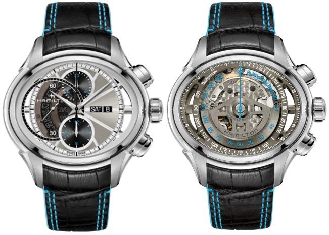 Hamilton / Jazzmaster Face2Face II - Gentlemen's Steel Wrist Watch