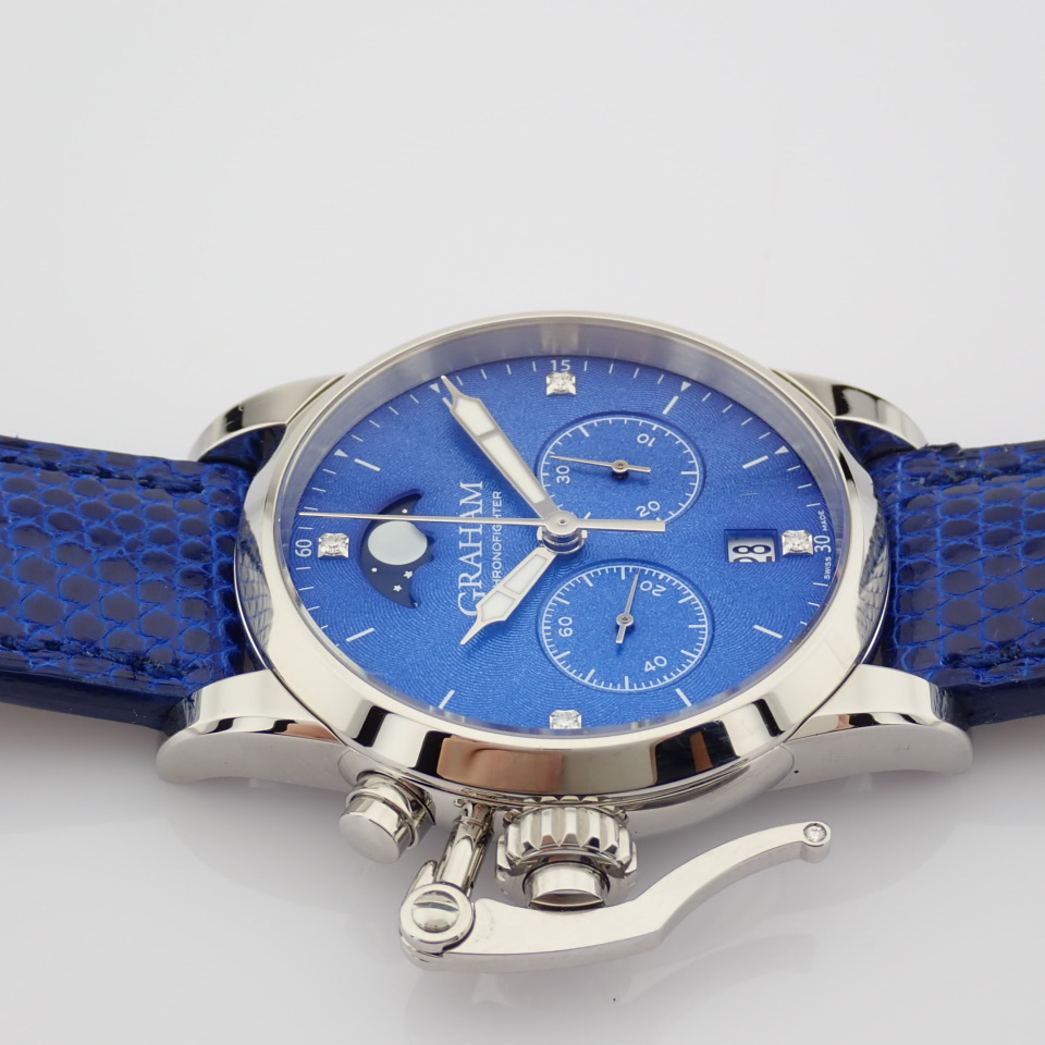 Graham / Chronofighter Lady Moon - Lady's Steel Wrist Watch - Image 2 of 15