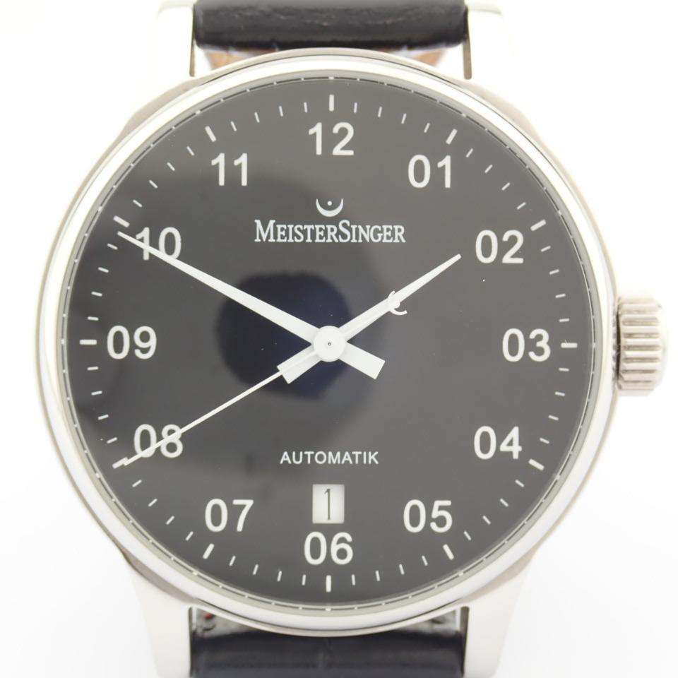 Meistersinger / Scrypto - Gentlemen's Steel Wrist Watch