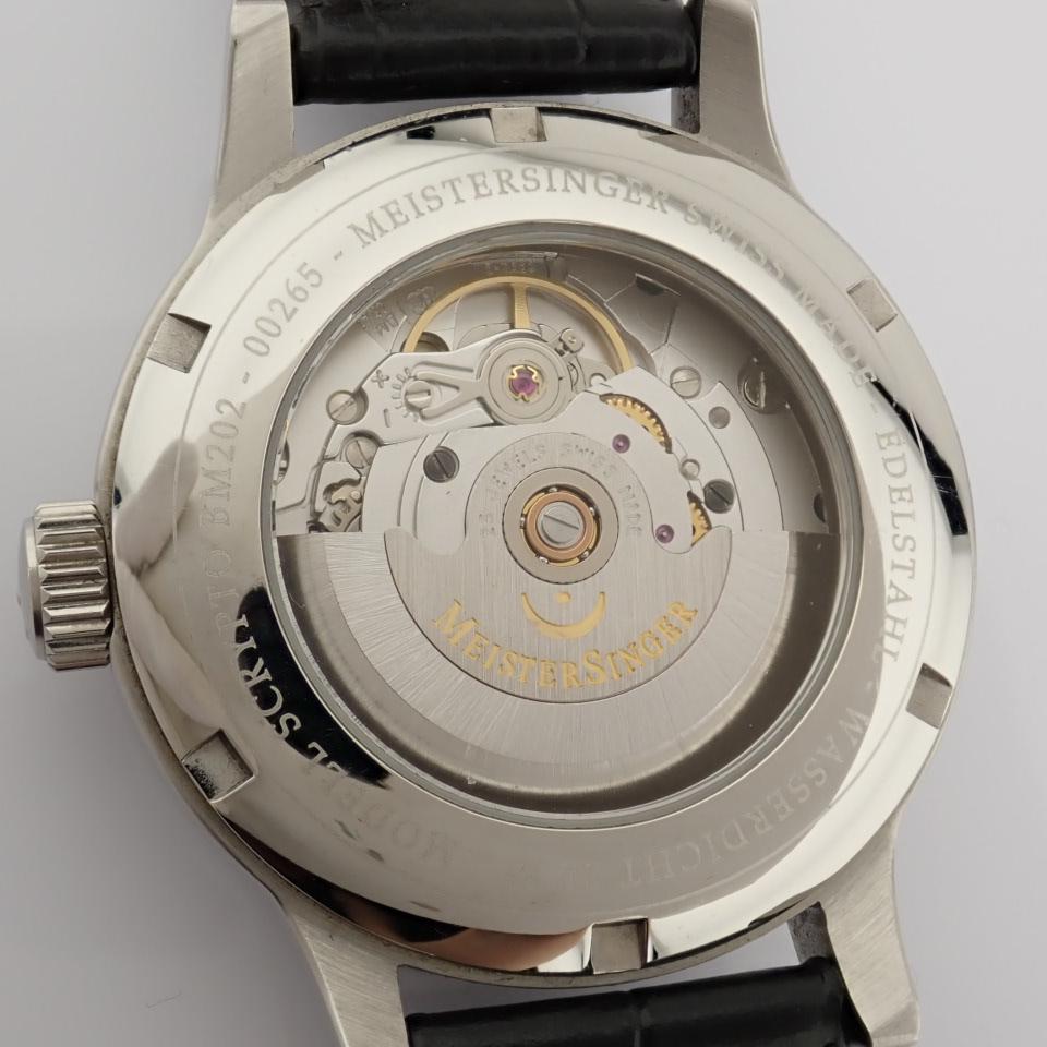 Meistersinger / Scrypto - Gentlemen's Steel Wrist Watch - Image 10 of 10