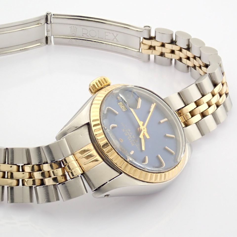 Rolex / Oyster Perpetual Date 6917 - Lady's Steel Wrist Watch - Image 3 of 13