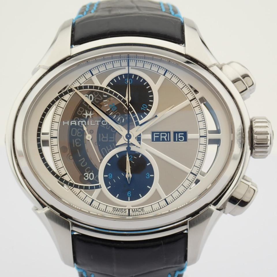 Hamilton / Jazzmaster Face2Face II - Gentlemen's Steel Wrist Watch - Image 5 of 13