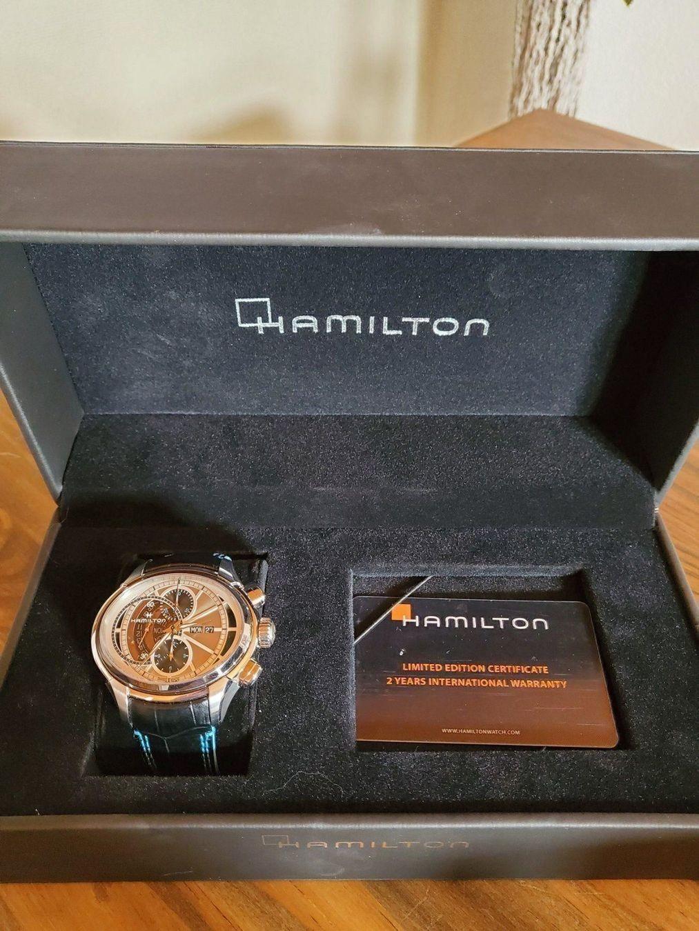 Hamilton / Jazzmaster Face2Face II - Gentlemen's Steel Wrist Watch - Image 4 of 13