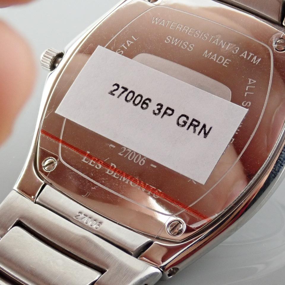 Edox / Date - Date World's Slimmest Calender Movement - Unisex Steel Wrist Watch - Image 4 of 8