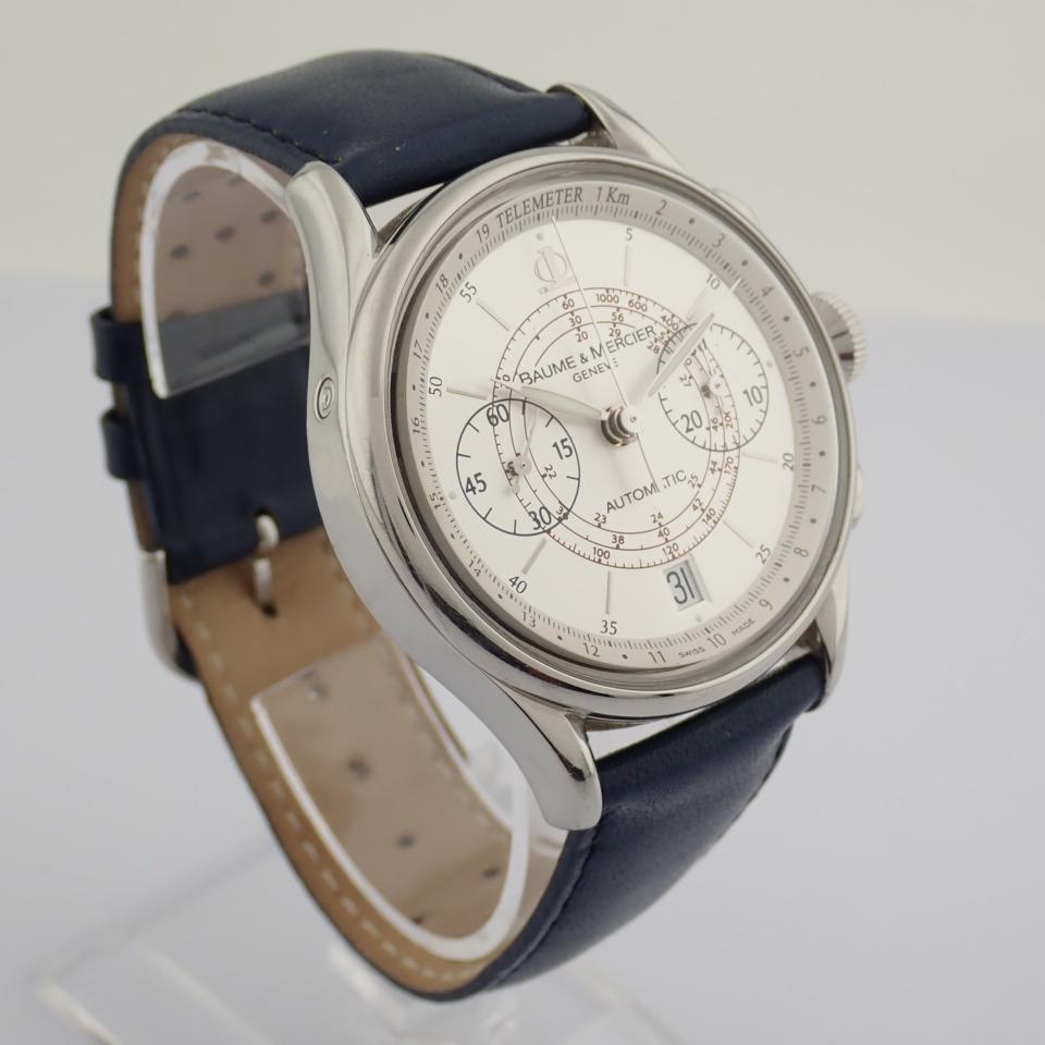 Baume & Mercier / 65542 - Gentlemen's Steel Wrist Watch - Image 10 of 10