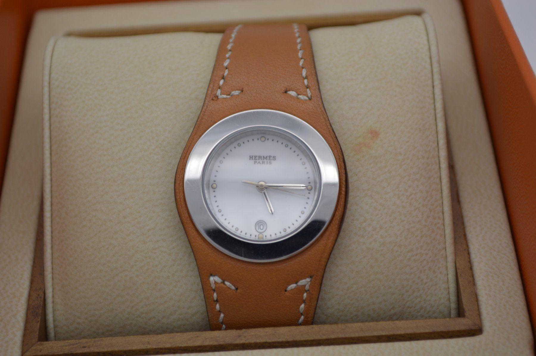 Herms / Harnais HA3.210 - Lady's Steel Wrist Watch - Image 2 of 6