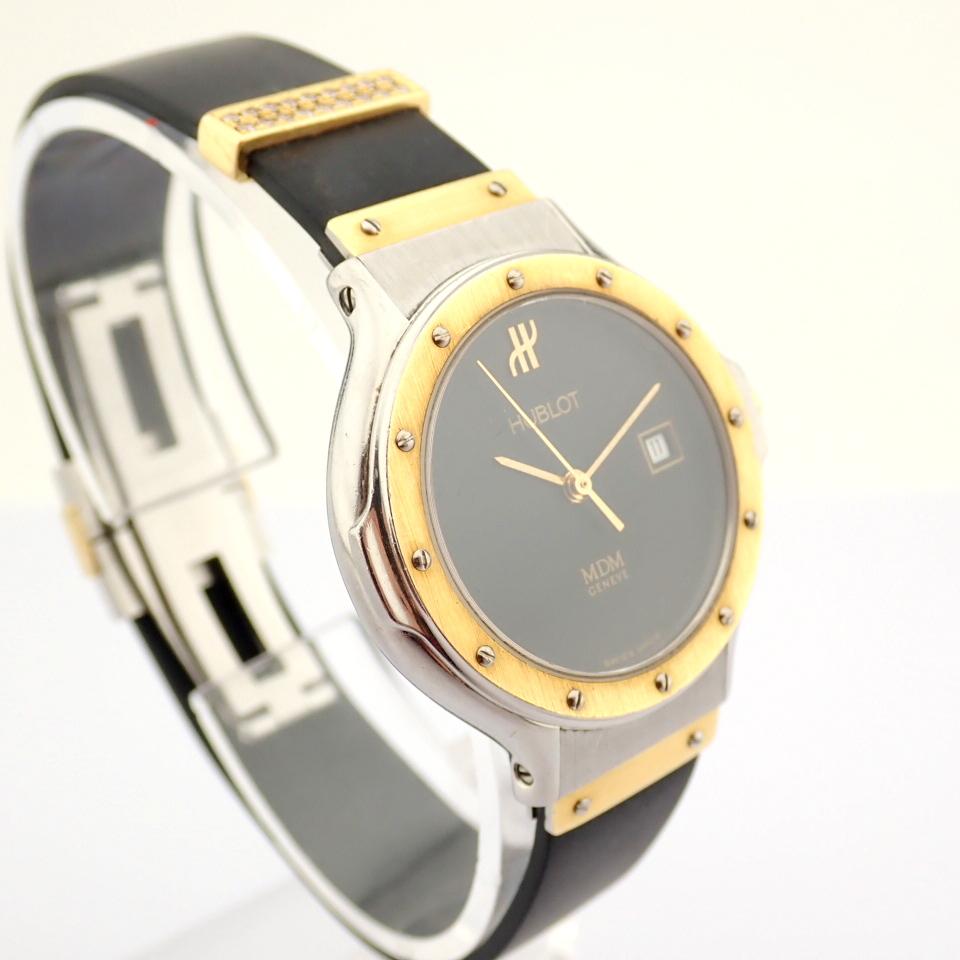 Hublot / MDM Diamond 18K Gold & Steel - Lady's Gold/Steel Wrist Watch - Image 9 of 17