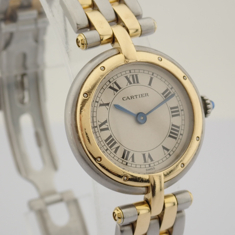 Cartier / Cartier Panthere Vendome 18K double row gold bracelet - Lady's Gold/Steel Wrist Watch - Image 10 of 10