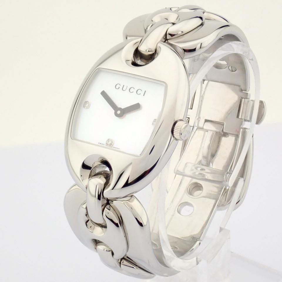 Gucci / 121.5 DIAMOND - Lady's Steel Wrist Watch - Image 3 of 12
