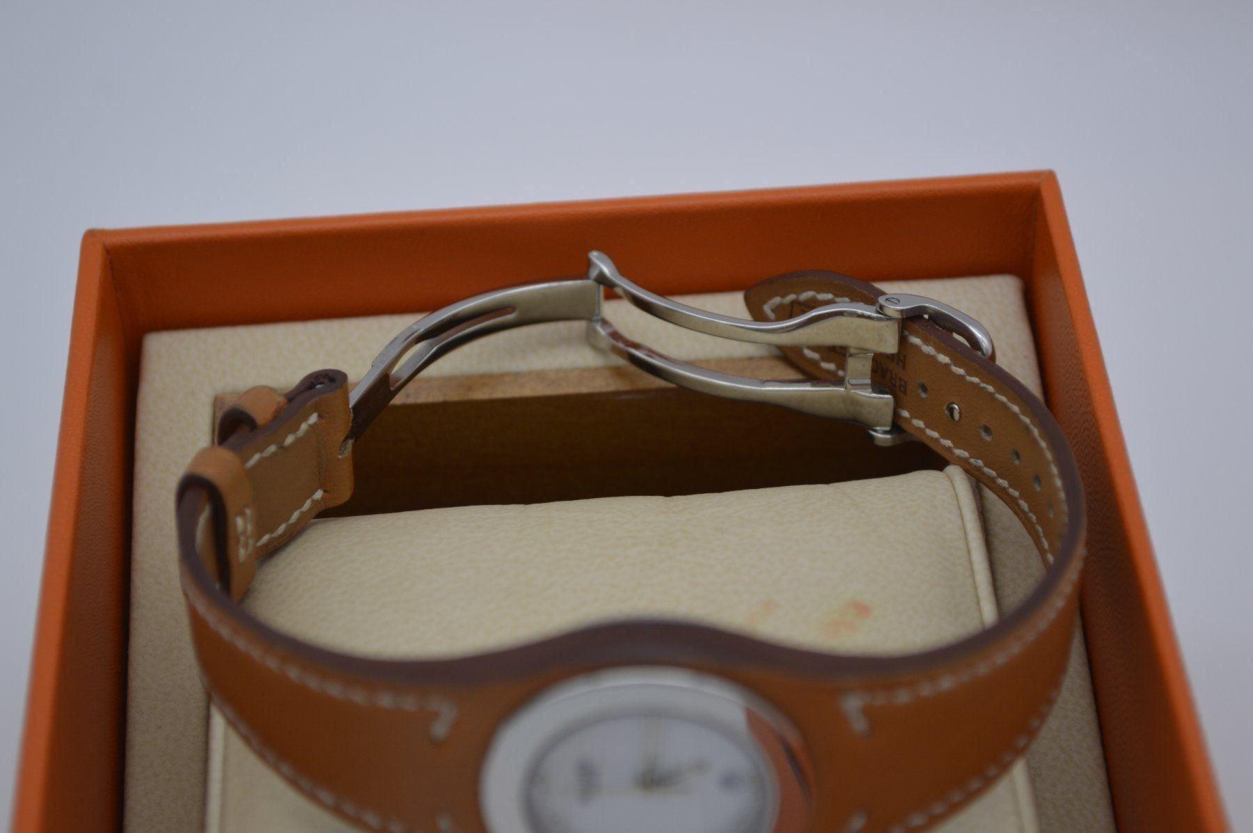 Herms / Harnais HA3.210 - Lady's Steel Wrist Watch - Image 3 of 6
