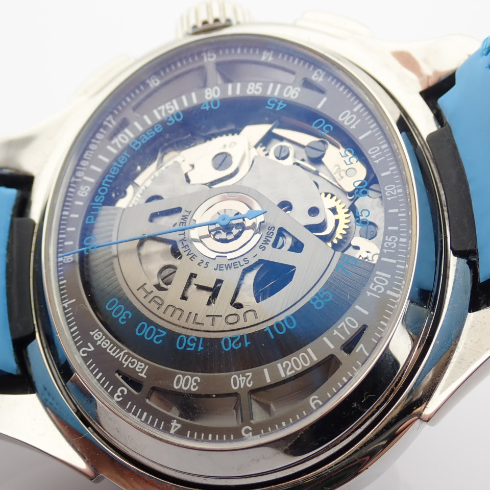 Hamilton / Jazzmaster Face2Face II - Gentlemen's Steel Wrist Watch - Image 9 of 13