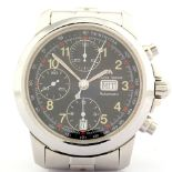 Maurice Lacroix / 39721 Automatic Chronograph - Gentlemen's Steel Wrist Watch