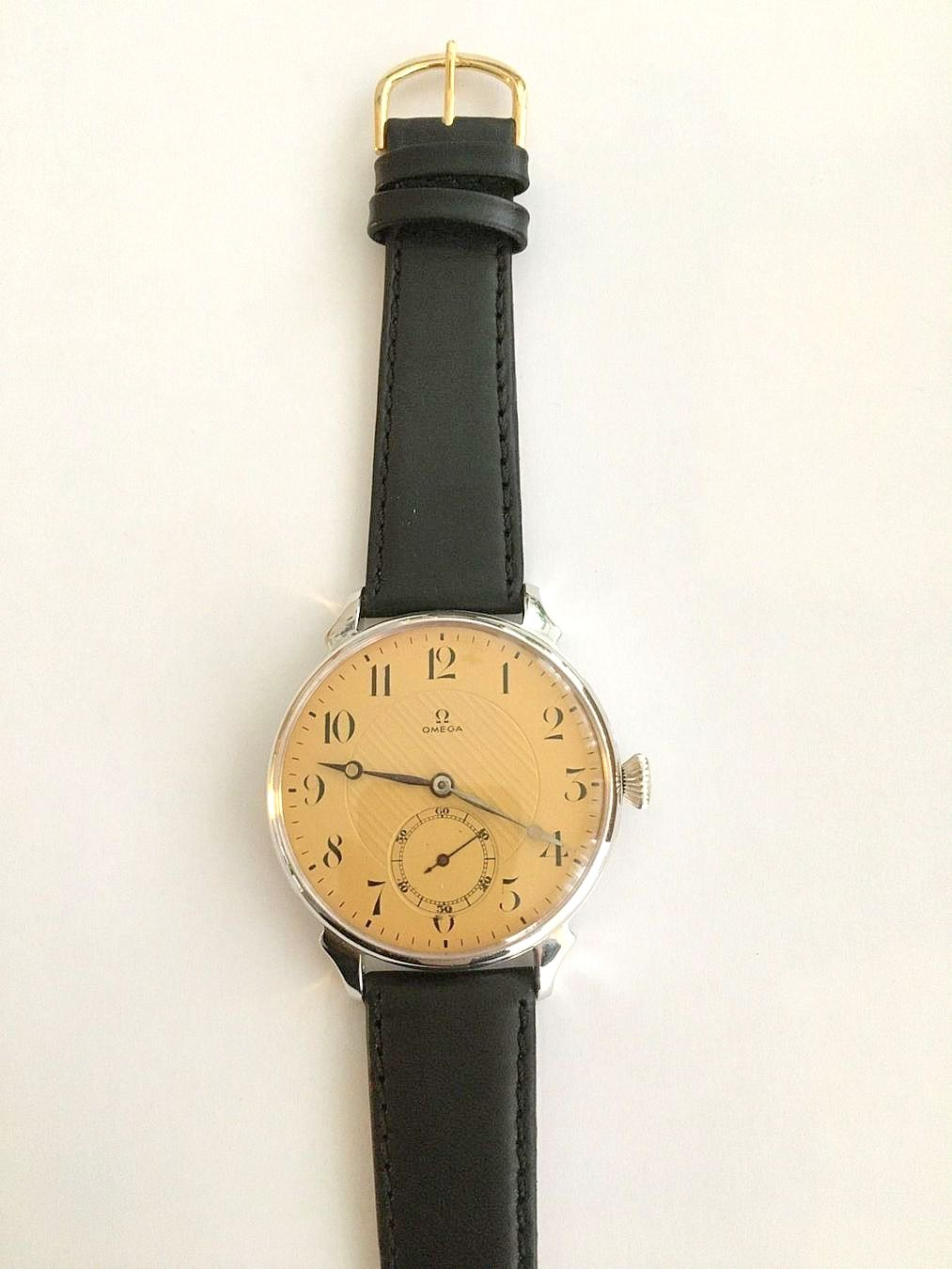 Omega / Marriage Watch - Transparent Large 46 mm - Gentlemen's Steel Wrist Watch - Image 2 of 3