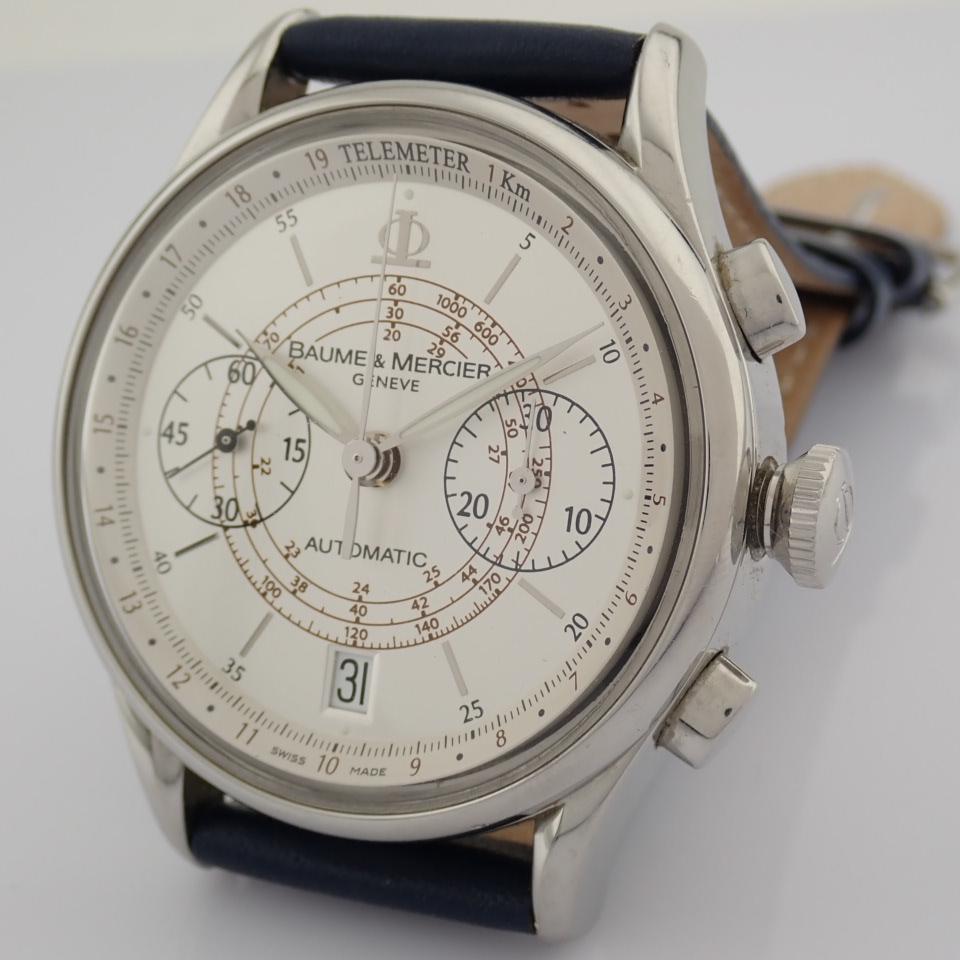 Baume & Mercier / 65542 - Gentlemen's Steel Wrist Watch - Image 9 of 10