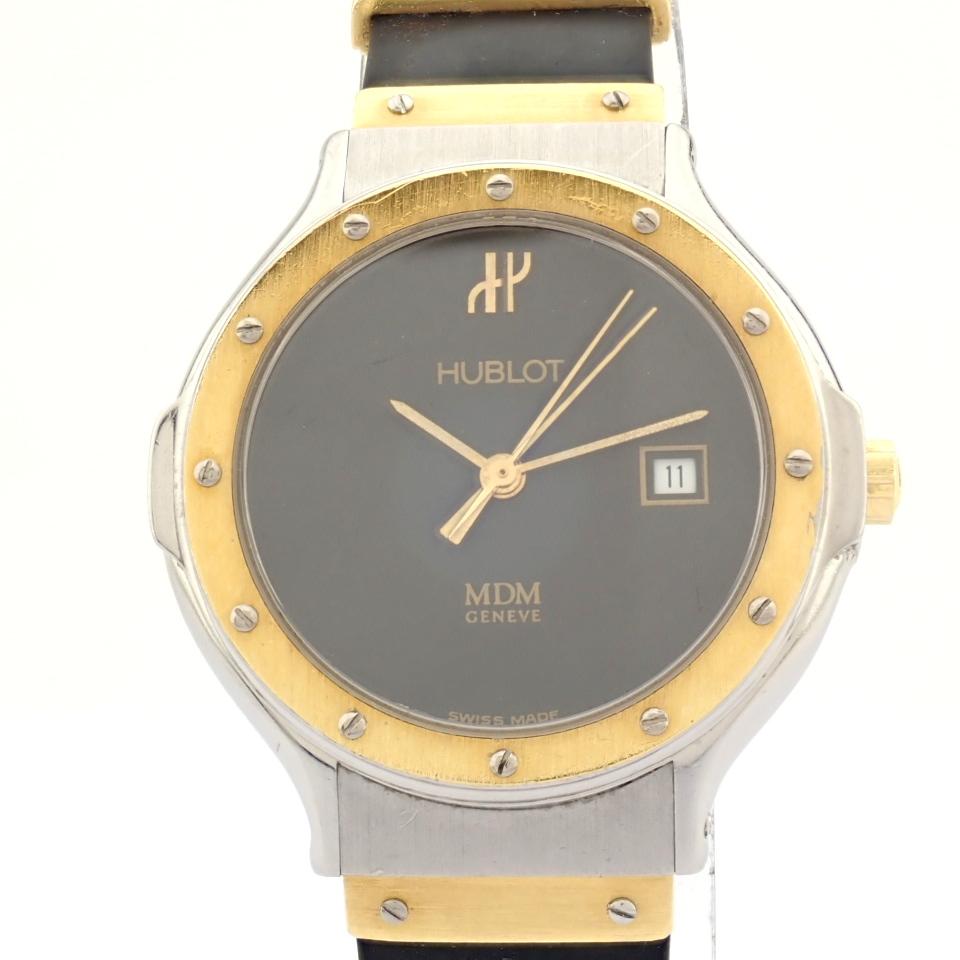Hublot / MDM Diamond 18K Gold & Steel - Lady's Gold/Steel Wrist Watch - Image 10 of 17